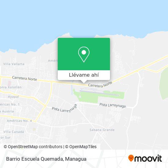 Mapa de Barrio Escuela Quemada