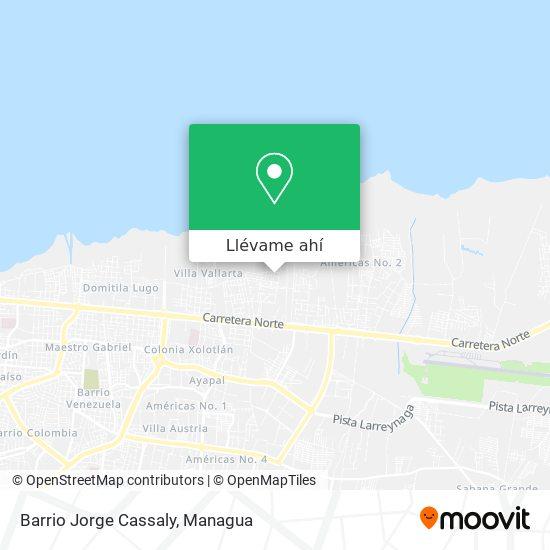 Mapa de Barrio José Cassaly