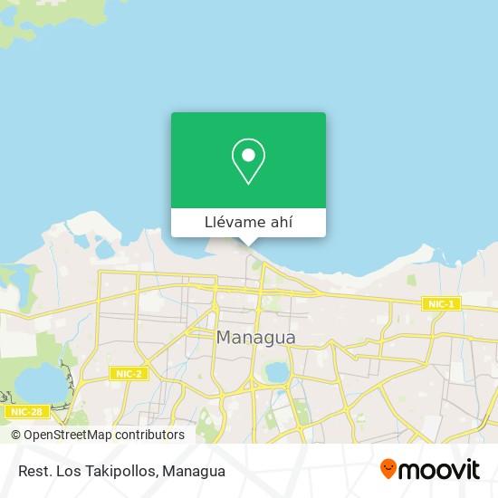 Mapa de Rest. Los Takipollos
