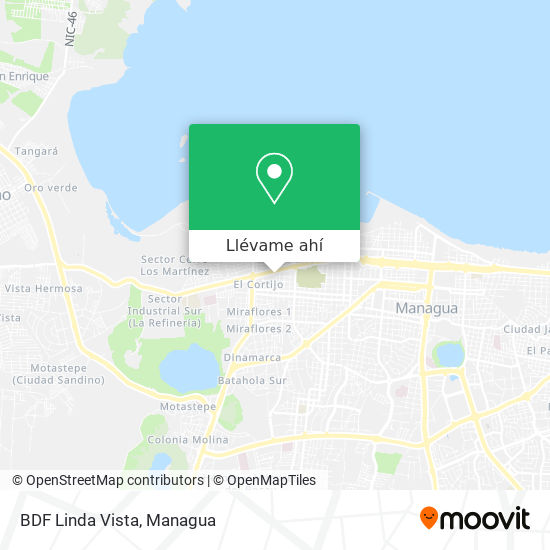 Mapa de BDF Linda Vista