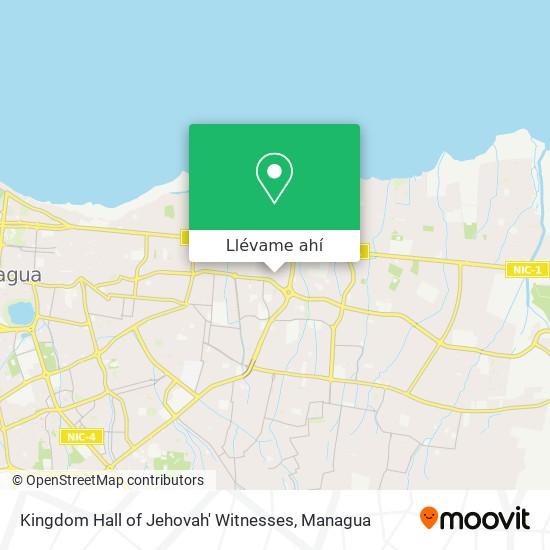 Mapa de Kingdom Hall of Jehovah' Witnesses