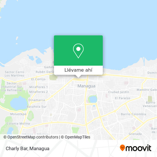 Mapa de Charly Bar