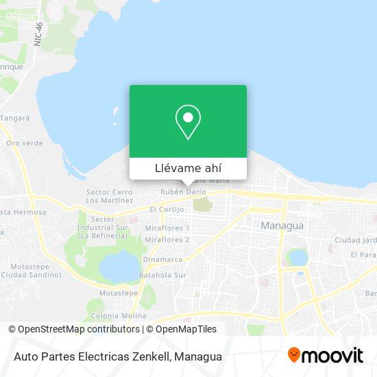 Mapa de Auto Partes Electricas Zenkell