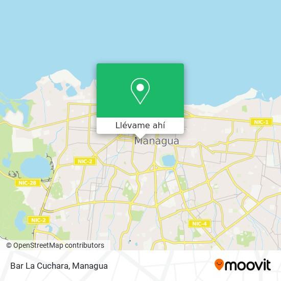 Mapa de Bar La Cuchara