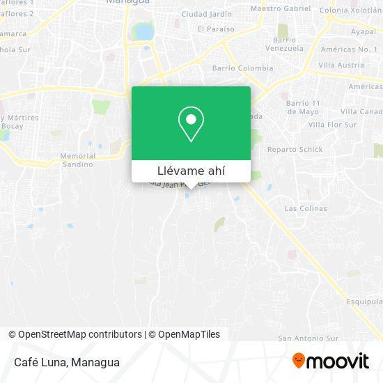 Mapa de Café Luna
