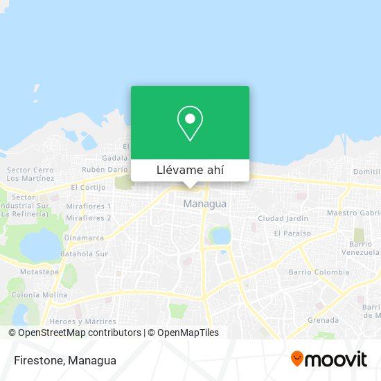 Mapa de Firestone