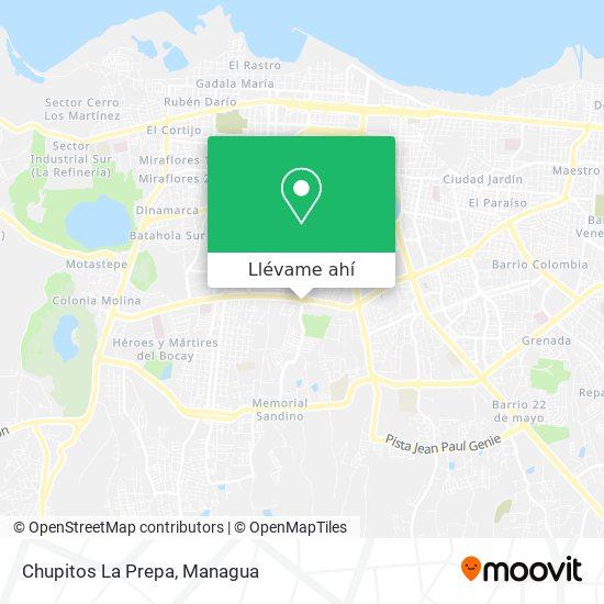 Mapa de Chupitos La Prepa