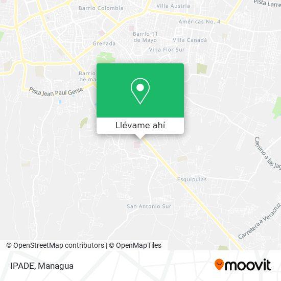 Mapa de IPADE
