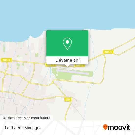 Mapa de La Riviera