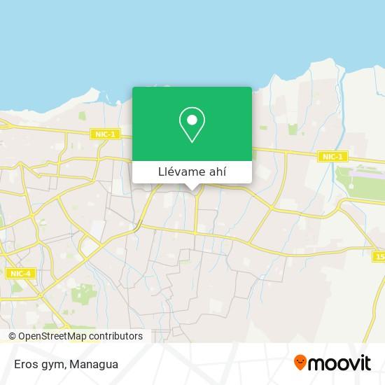 Mapa de Eros gym