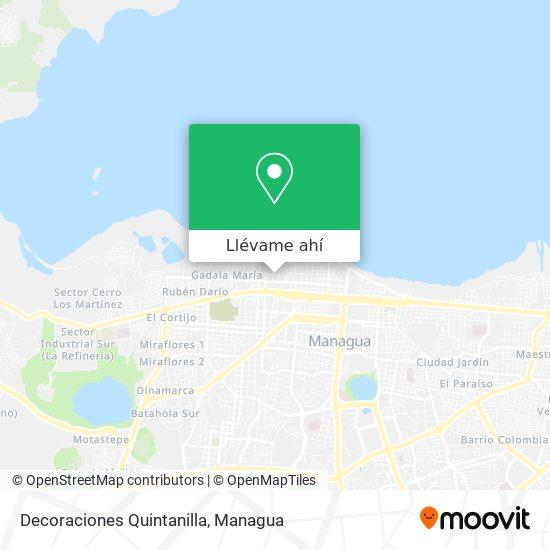 Mapa de Decoraciones Quintanilla