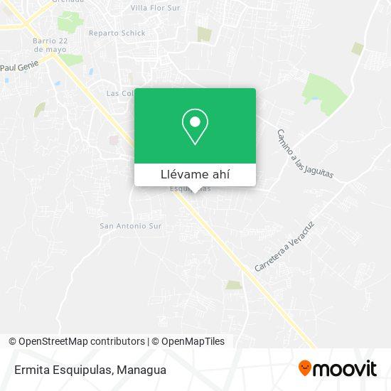 Mapa de Ermita Esquipulas