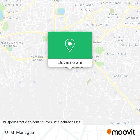 Mapa de UTM