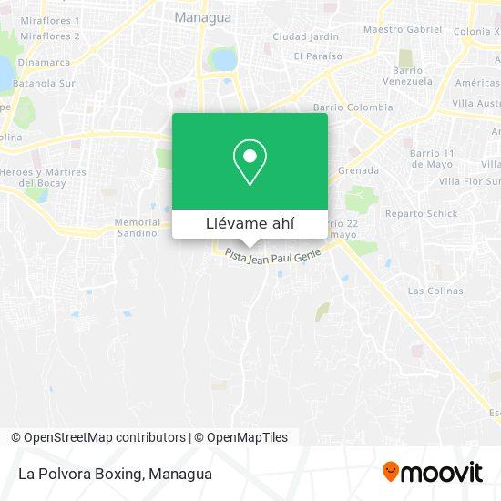 Mapa de La Polvora Boxing