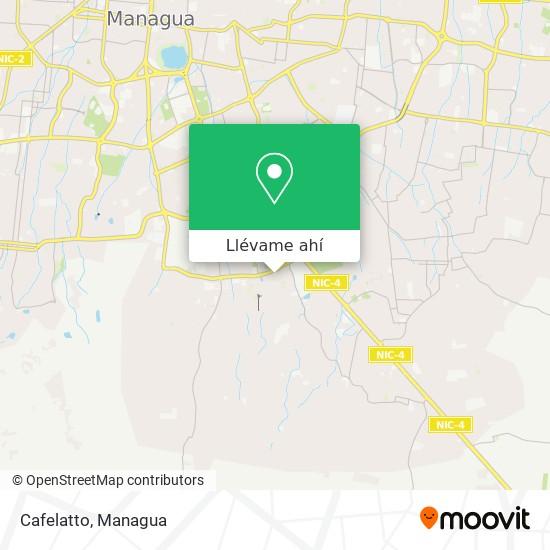 Mapa de Cafelatto