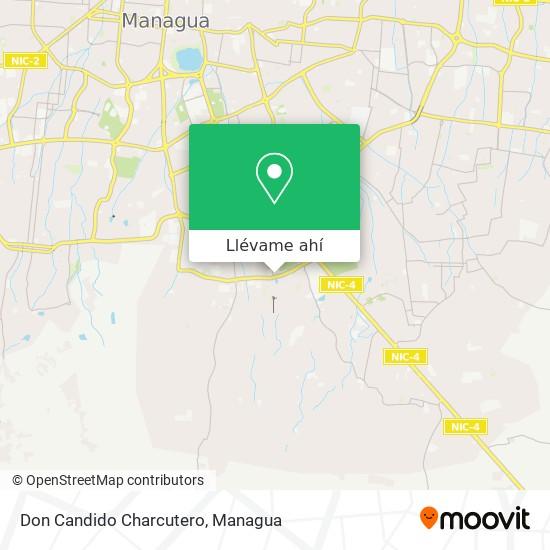 Mapa de Don Candido Charcutero