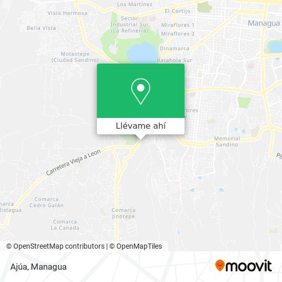 Mapa de Ajúa