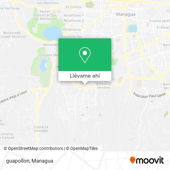 Mapa de guapollon