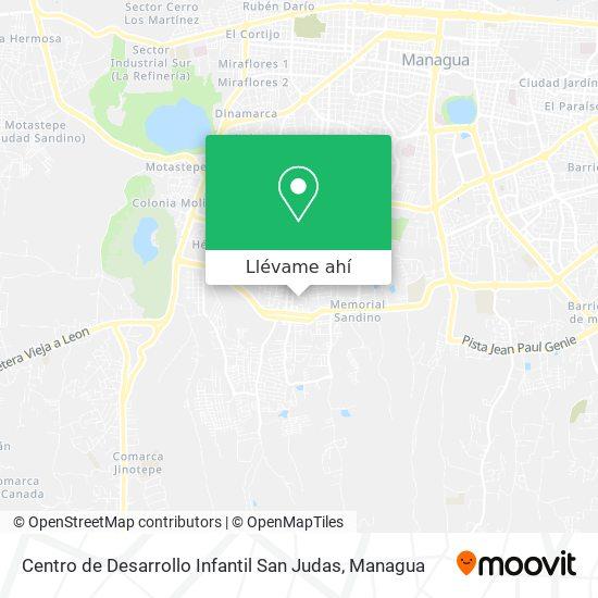 Mapa de Centro de Desarrollo Infantil San Judas