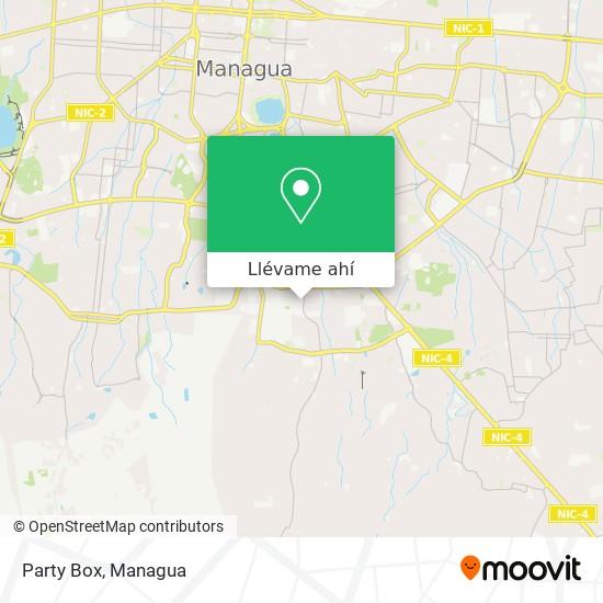 Mapa de Party Box