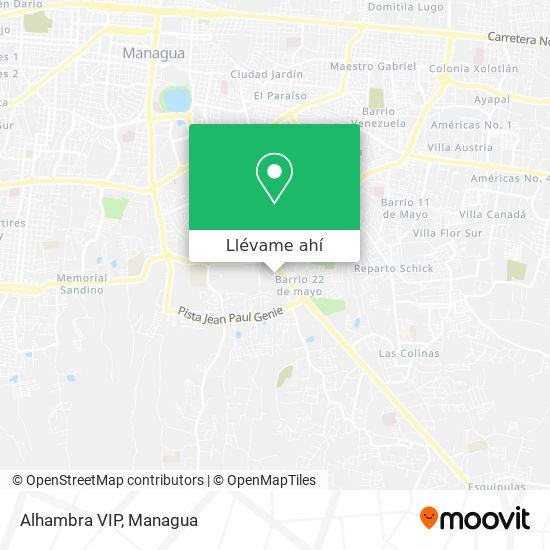 Mapa de Alhambra VIP