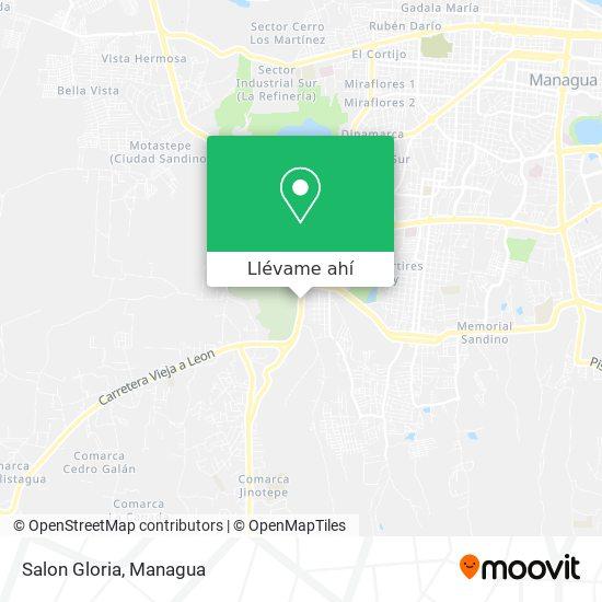 Mapa de Salon Gloria