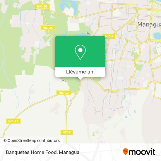 Mapa de Banquetes Home Food