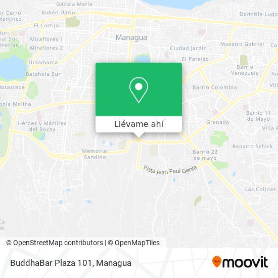 Mapa de BuddhaBar Plaza 101