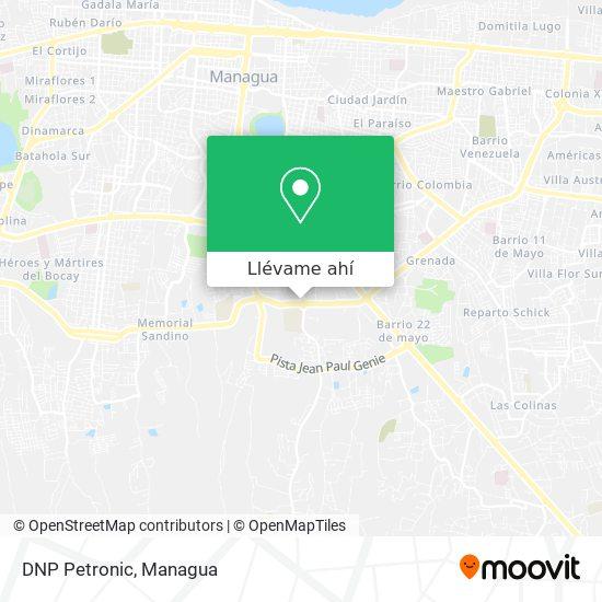 Mapa de DNP Petronic
