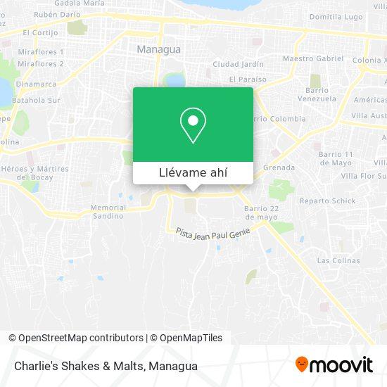 Mapa de Charlie's Shakes & Malts