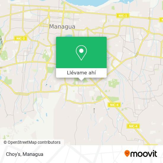 Mapa de Choy's