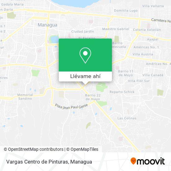 Mapa de Vargas Centro de Pinturas
