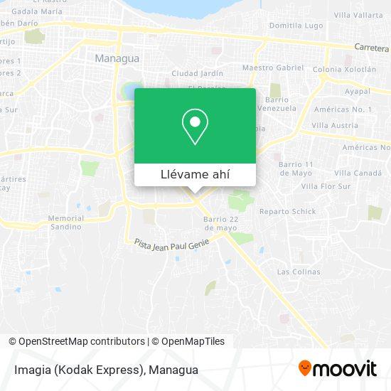 Mapa de Imagia (Kodak Express)