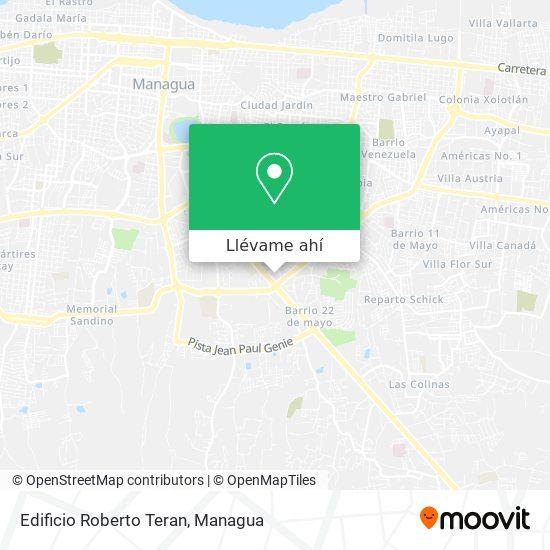 Mapa de Edificio Roberto Teran
