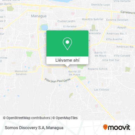 Mapa de Somos Discovery S.A