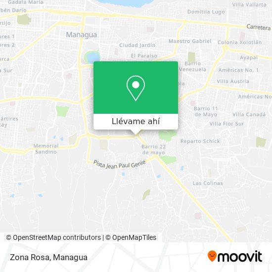 Mapa de Zona Rosa
