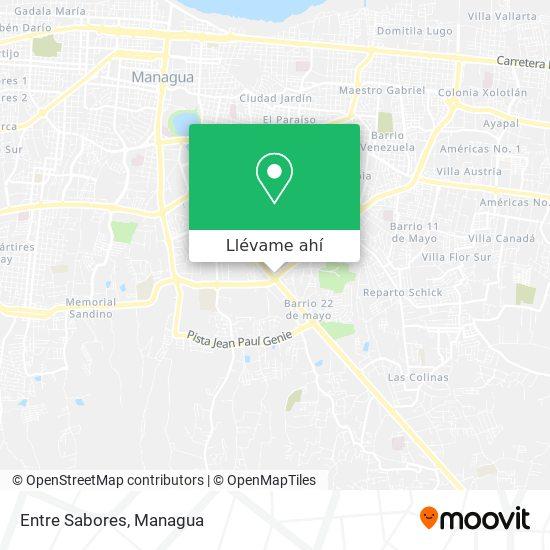 Mapa de Entre Sabores