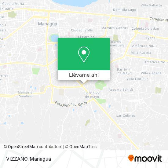 Mapa de VIZZANO