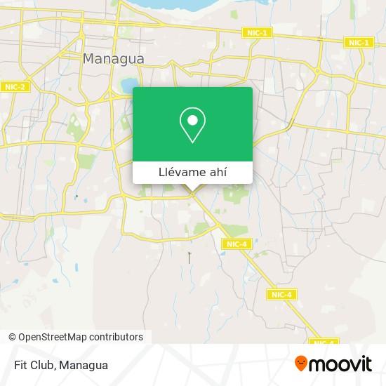 Mapa de Fit Club