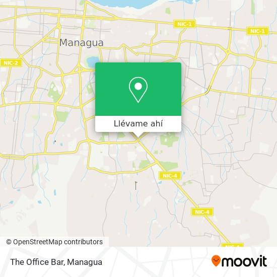 Mapa de The Office Bar