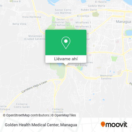 Mapa de Golden Health Medical Center