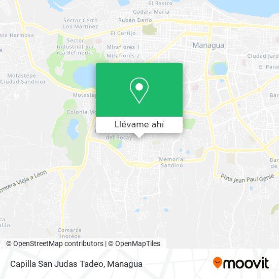 Mapa de Capilla San Judas Tadeo