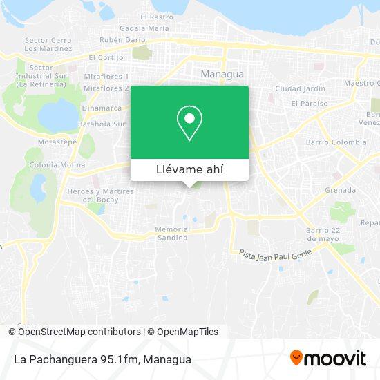 Mapa de La Pachanguera 95.1fm