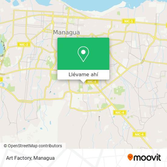 Mapa de Art Factory