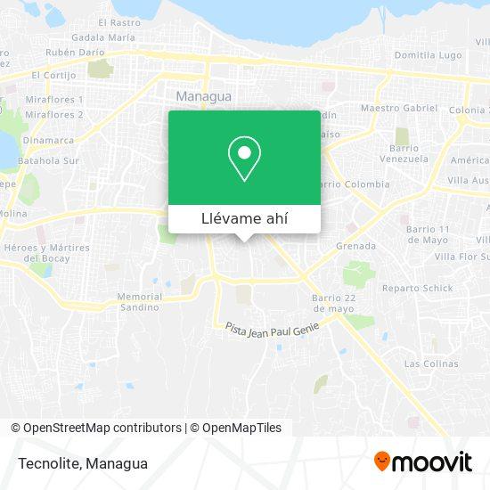 Mapa de Tecnolite