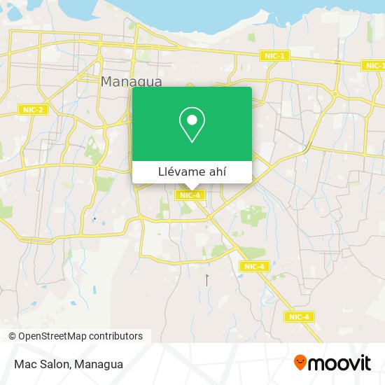 Mapa de Mac Salon