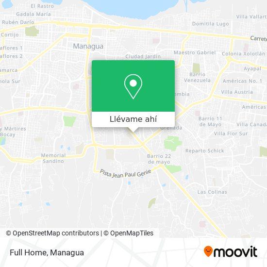Mapa de Full Home