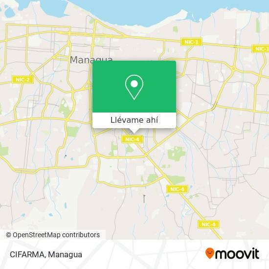 Mapa de CIFARMA