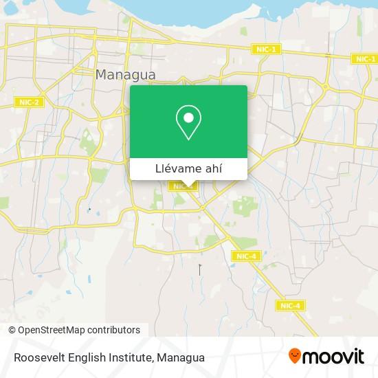 Mapa de Roosevelt English Institute