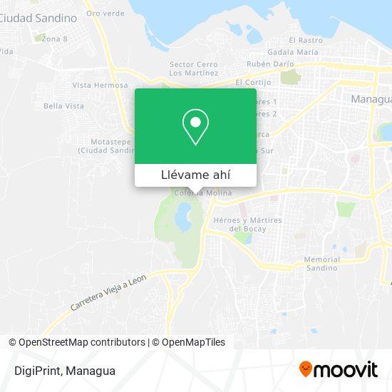 Mapa de DigiPrint